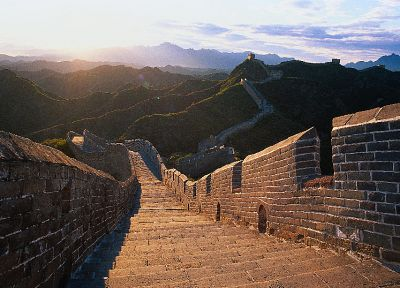 Great Wall of China - duplicate desktop wallpaper