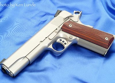 guns, weapons, M1911, .45ACP, handguns, Ed Brown Products - random desktop wallpaper