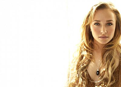blondes, actress, Hayden Panettiere, models, celebrity - random desktop wallpaper
