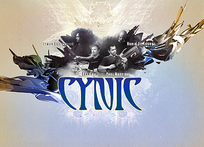 metal, band, Cynic - random desktop wallpaper
