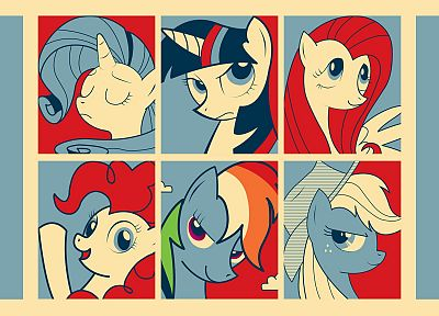 My Little Pony, Shepard Fairey - related desktop wallpaper