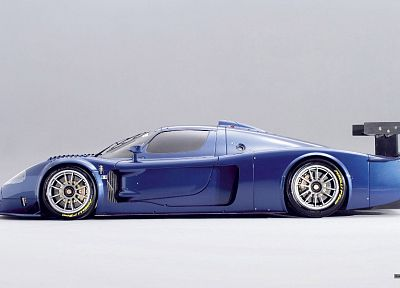 cars, Maserati, vehicles, side view, Maserati MC12 Corsa - desktop wallpaper