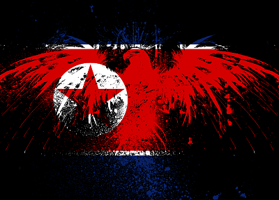 flags, North Korea, Korea - related desktop wallpaper