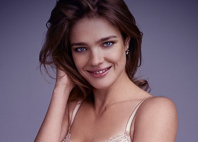 brunettes, women, models, Natalia Vodianova, faces - random desktop wallpaper