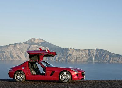 cars, Mercedes-Benz, Mercedes-Benz SLS AMG E-Cell - related desktop wallpaper