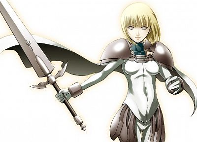 Claymore, Claire - random desktop wallpaper
