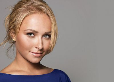 blondes, women, actress, Hayden Panettiere, celebrity, faces - random desktop wallpaper