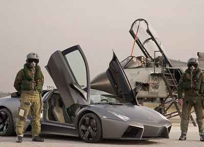 Lamborghini Reventon, Italian Air Force, Panavia Tornado - random desktop wallpaper