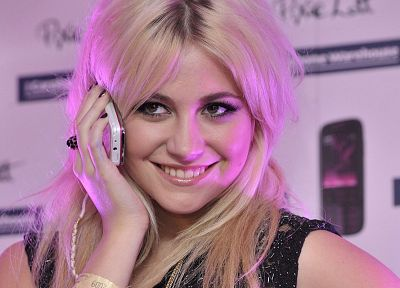 blondes, women, Pixie Lott, faces - desktop wallpaper