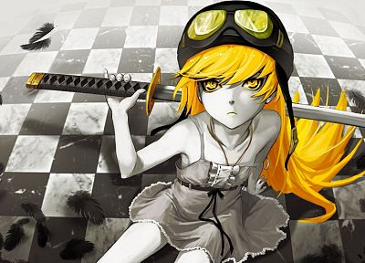Bakemonogatari, Oshino Shinobu, Monogatari series - related desktop wallpaper
