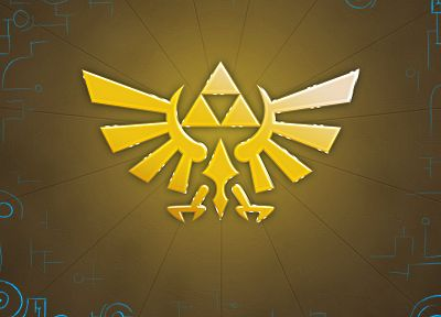 triforce, Hyrule, The Legend of Zelda - desktop wallpaper