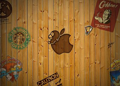 wood, Apple Inc., bar - desktop wallpaper