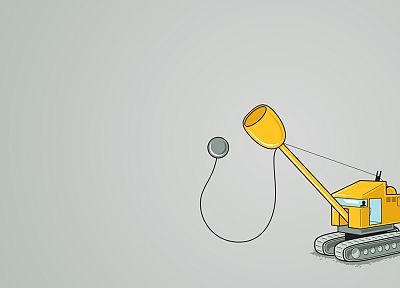 minimalistic, funny, Threadless, cranes - related desktop wallpaper