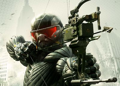 video games, Crysis, Crysis 3 - related desktop wallpaper