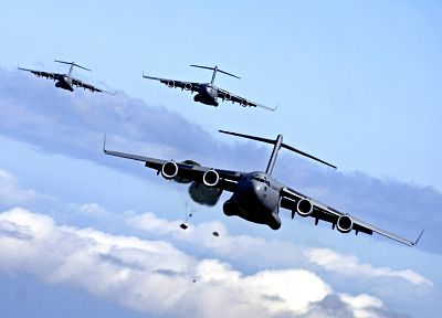 aircraft, C-17 Globemaster - random desktop wallpaper