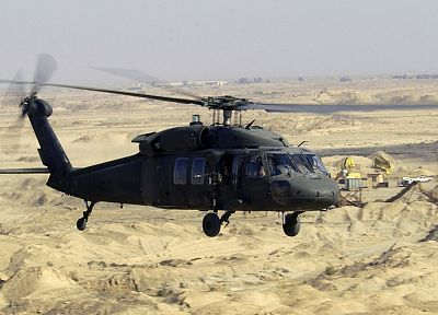 aircraft, military, helicopters, deserts, Blackhawk, vehicles, UH-60 Black Hawk - related desktop wallpaper
