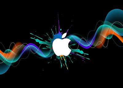 Apple Inc., HDR photography, logos, 3D - related desktop wallpaper