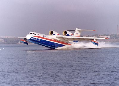 water, aircraft, vehicles, Beriev Be-200 - desktop wallpaper