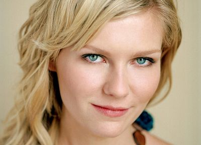 blondes, women, actress, Kirsten Dunst, faces - desktop wallpaper