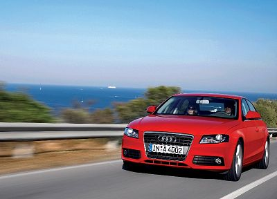 cars, Audi A4, German cars - random desktop wallpaper