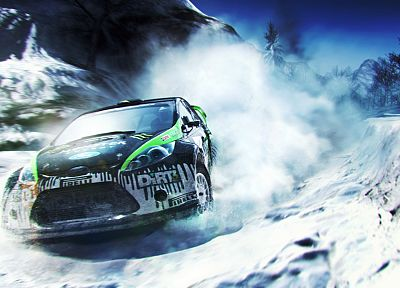 video games, cars, rally, Codemasters, Dirt 3, Dirt video game, Colin McRae - random desktop wallpaper