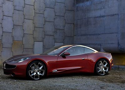cars, vehicles, Fisker Karma S Sunset - random desktop wallpaper