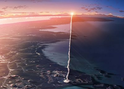 screenshots, Makoto Shinkai, 5 Centimeters Per Second, anime, contrails - related desktop wallpaper