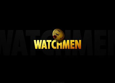 Watchmen, smiley face - random desktop wallpaper