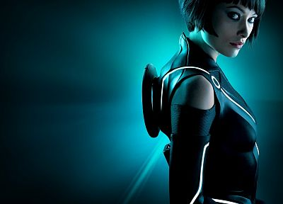 movies, Olivia Wilde, Tron, Tron Legacy, Quorra - related desktop wallpaper