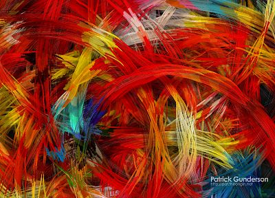 abstract, multicolor, artwork, Patrick Gunderson - related desktop wallpaper