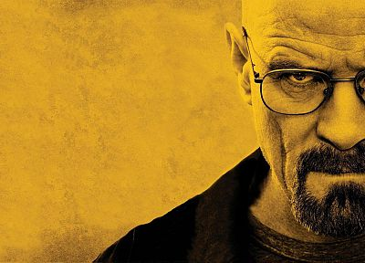 Walter White, artist, men with glasses - desktop wallpaper