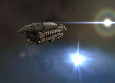 EVE Online, Abaddon - random desktop wallpaper