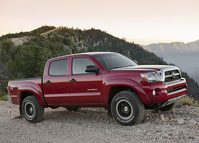 cars, trucks, vehicles, Toyota Tacoma, pickup trucks - desktop wallpaper