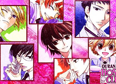 Ouran High School Host Club, anime - desktop wallpaper