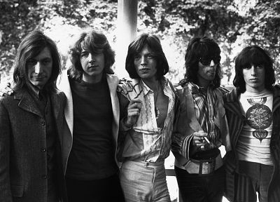 Mick Jagger, Rolling Stones, grayscale, Keith Richards, music bands - random desktop wallpaper