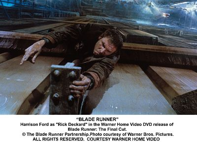 Blade Runner, hanging, Harrison Ford, ledge - random desktop wallpaper
