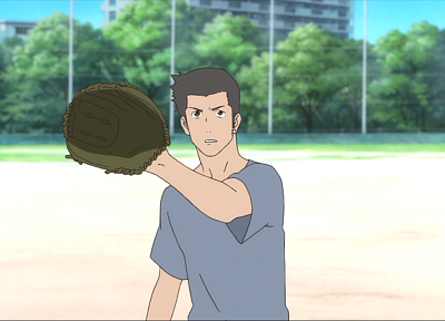 The Girl Who Leapt Through Time, baseball, screenshots, Kosuke Tsuda - random desktop wallpaper
