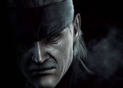 Metal Gear, old, Solid Snake, promotional, realistic - desktop wallpaper