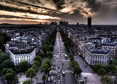 Paris, cityscapes, architecture, buildings - desktop wallpaper