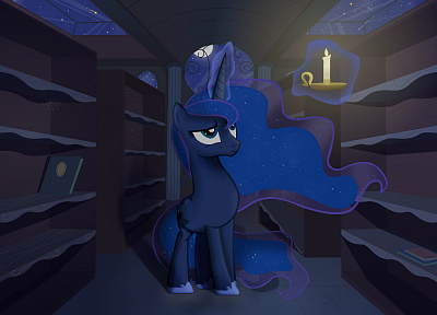 night, My Little Pony, ponies, Princess Luna, My Little Pony: Friendship is Magic - random desktop wallpaper