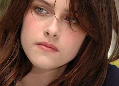 women, Kristen Stewart, faces - random desktop wallpaper