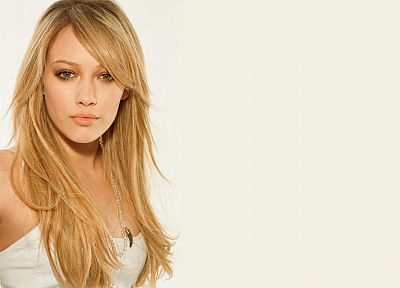 women, Hilary Duff - random desktop wallpaper