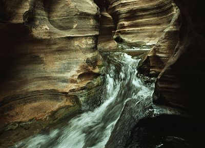canyon, Grand Canyon, creek, rock formations - random desktop wallpaper