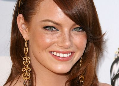 women, Emma Stone - random desktop wallpaper