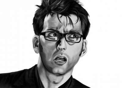 David Tennant, sketches, Doctor Who, Tenth Doctor - related desktop wallpaper