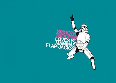 Star Wars, stormtroopers, smooth trooper, simple background - desktop wallpaper