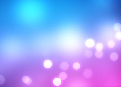 abstract, blue, minimalistic, purple, bokeh, blurred - desktop wallpaper