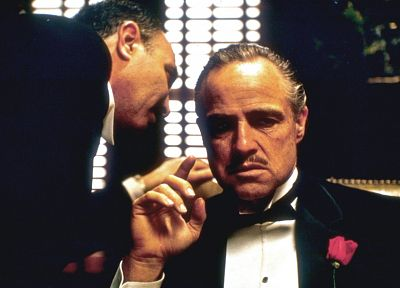 The Godfather, Marlon Brando - random desktop wallpaper