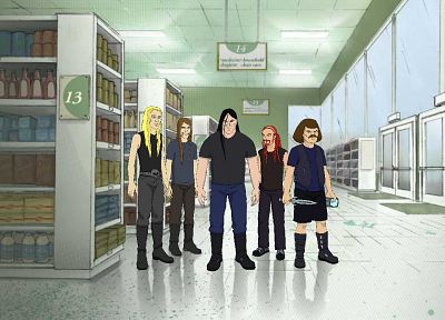 dethklok, Metalocalypse - random desktop wallpaper