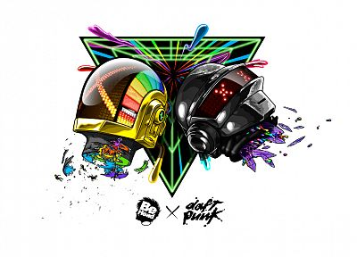 Daft Punk, illustrations - related desktop wallpaper